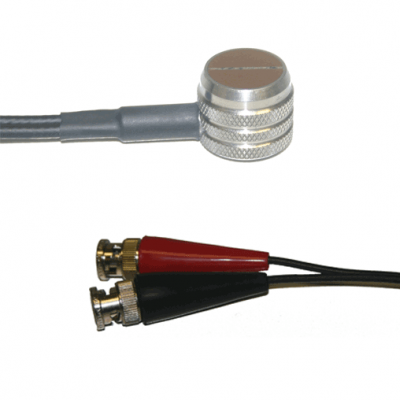 Dual Element transducers with potted fingertip