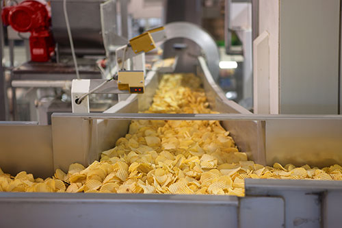 Ultrasonic testing in the food industry