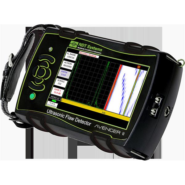 Avenger II Ultrasonic Flaw Detector