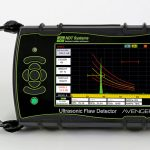Avenger II ultrasonic flaw detector front