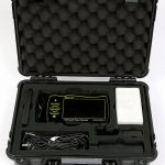 Avenger II ultrasonic flaw detector with kit and case